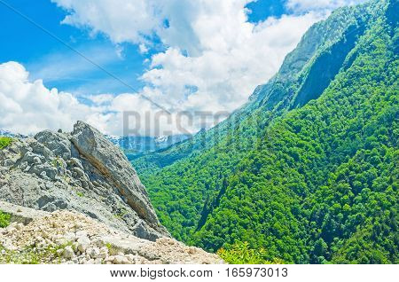 The Landscape Of Upper Svaneti