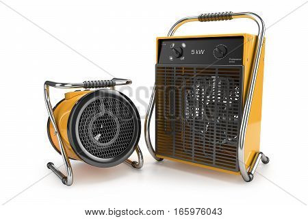 Industrial Fan Heaters 3D