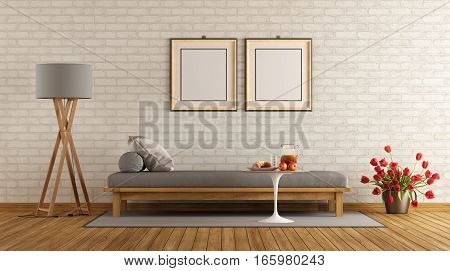 Modern Lounge With Day Bed