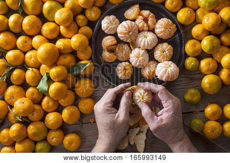 Small Peeled Mandarin
