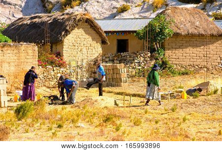 People Working In Bolivia