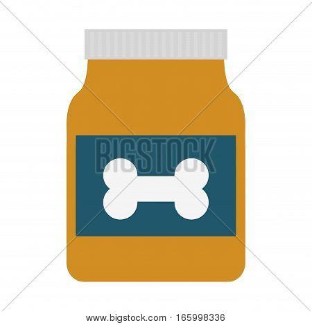 bag food dog and cat nutrition vector illustration eps 10