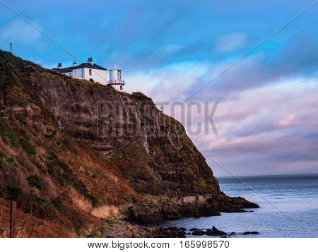 Blackhead Lighthouse, once the guardian of Belfast's glory days of shipping, Blackhead guided many great ships on their journey, none more than the famous Titanic.