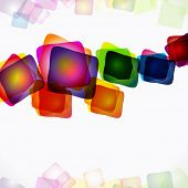 Abstract bright colorful background. poster