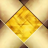Abstract background with hardwood textures of copper and amber hues. poster