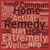 Cheapest Home Remedies 1 text background wordcloud concept poster