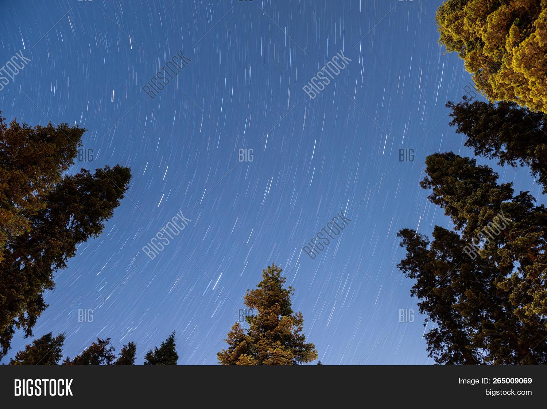 Star Trails Dorst Image & Photo (Free Trial)   Bigstock