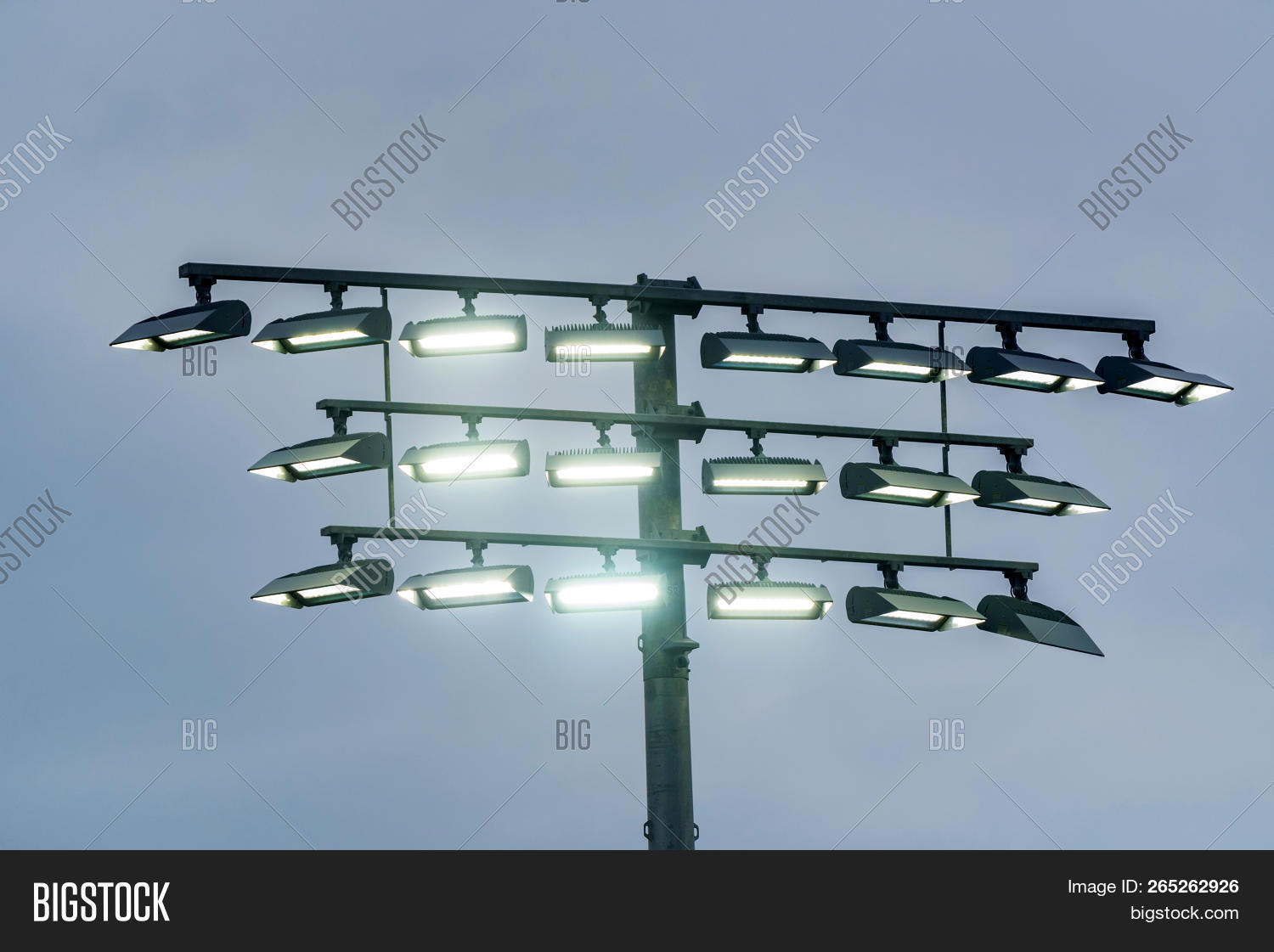 Airport Landing Lights Image & Photo (Free Trial) | Bigstock