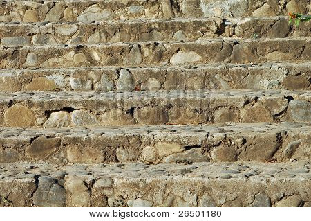 Stair Of Natural Stone