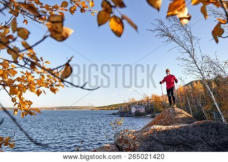 Runner On The Lake