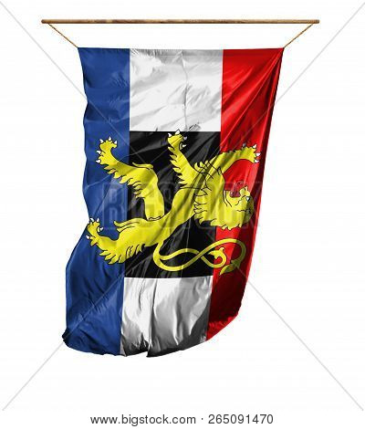 Flag Of Benelux. Isolated On A White Background.