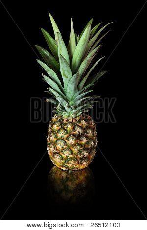 Pineapple On Black