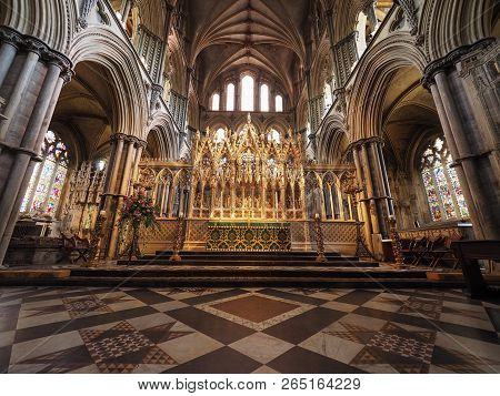 Ely Cathedral Interior