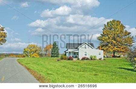 Farm House In America