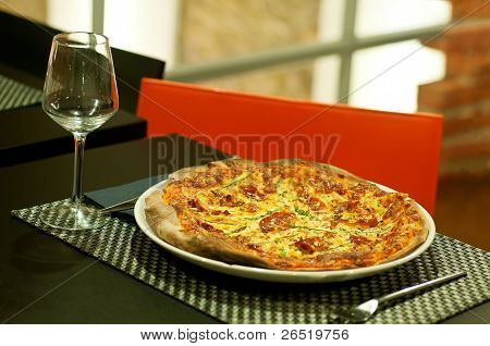 Pizza Over Table