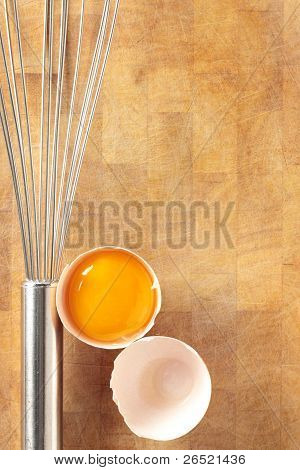 Egg And Whisk.