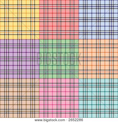 Nine Plaid Patterns
