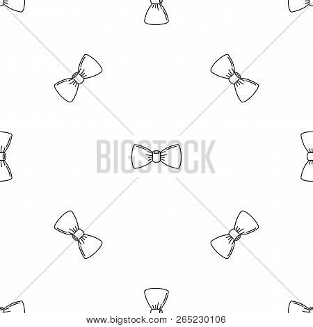 Oldfashion bow tie pattern seamless vector repeat geometric for any web design poster