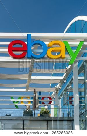 Ebay World Headquarters Exterior And Logo