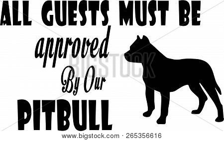 Pit Bull Quotes, Vector & Photo (Free Trial) | Bigstock
