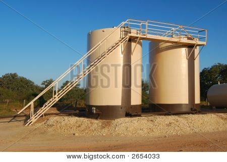 Twin Tan Storage Tanks