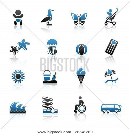 Recreation & Vacation, Icons Set..jpg