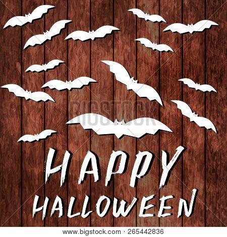 Happy Halloween Hand Vector Photo Free Trial Bigstock