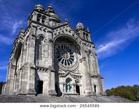 Santa Luzia basilic in Viana do Castelo (north Portugal)
