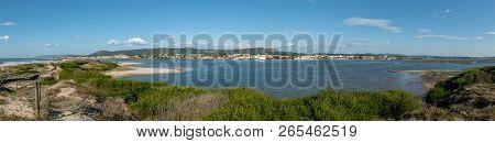 View Of The Estuary Of Cavado River, Esposende - Portugal.