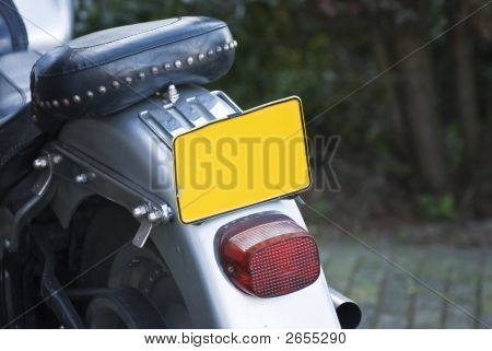 Motor Cycle Plate