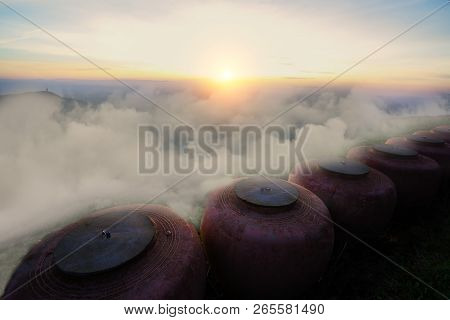 Phu Thap Boek Is Popular Place To Watch The Morning Sea Of Mist Landscape Sea Of Mist Phu Thap Boek