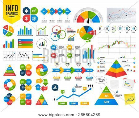 Infographic Timeline Icons. Human Silhouette And Aim Targer With Arrow Signs. Financial Analytics. D