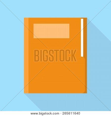 Office Folder Icon. Flat Illustration Of Office Folder Vector Icon For Web Design