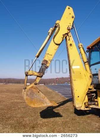 Back Hoe Construction Equipment