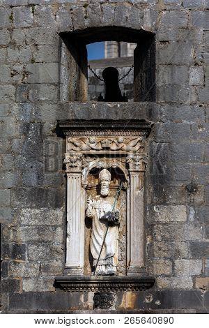 Statue Of Saint Blaise, Dubrovnik's Patron Saint
