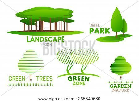 Landscape Design Vector Photo Free Trial Bigstock
