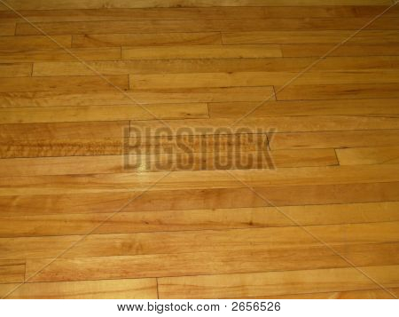 A View Of A Flat Wood Floor