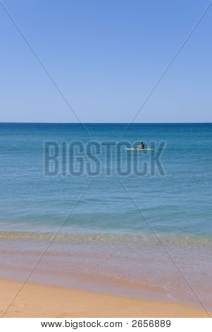 Beautiful Ocean Kayak Beach