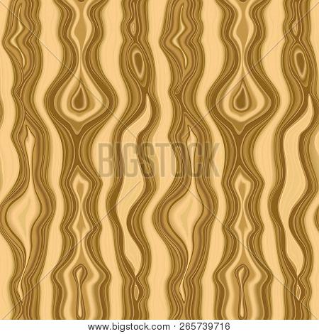 Malachite Seamless Pattern. Beige Vector Repeat Texture.