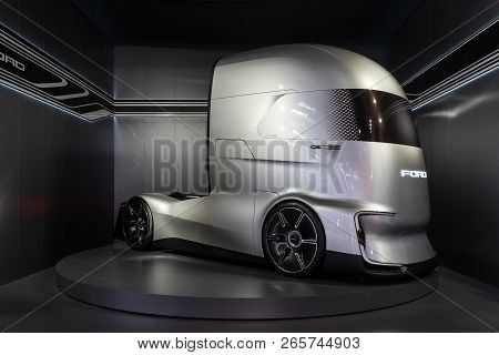 Ford F-vision Future Truck, Electric And Autonomous