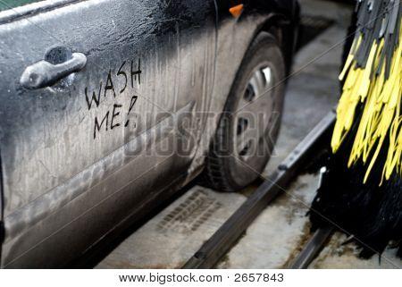 Automatic Car Wash Interior