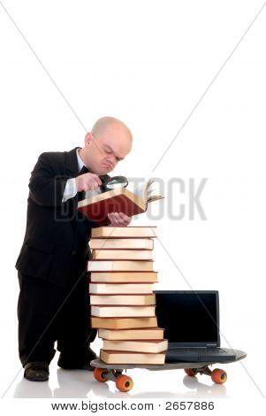 Internet Library Dwarf Surfing