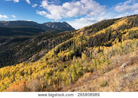 Eagles Nest Peak 13,091 And Mount Powell 13,560 Are Part Of The Gore Mountain Range In Colorado. Eag