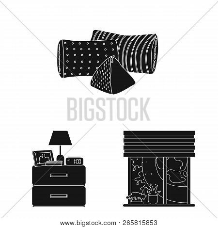 Vector Illustration Of Dreams And Night Icon. Collection Of Dreams And Bedroom Stock Vector Illustra