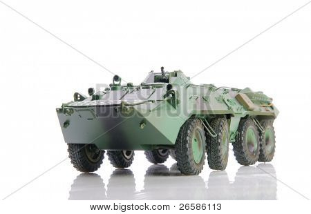 Isolated soviet apc