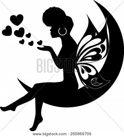 African American Black Pretty Lady Classy Diva Queen Power Strong Female Woman Praying God Believe L