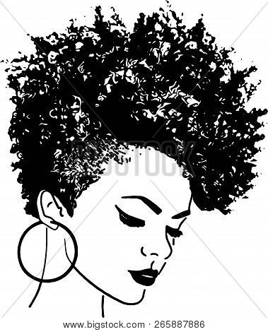 African American Pretty Lady Classy Lady Diva Queen Power Strong Female Woman Praying God Believe