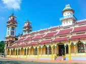 Cao Dai Temple, Tay Ninh, Vietnam, Asia poster