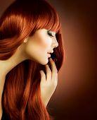 Beauty Portrait.Healthy Hair poster