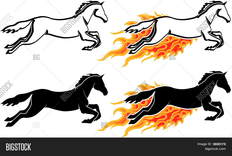 Running Horse Vector Photo Free Trial Bigstock
